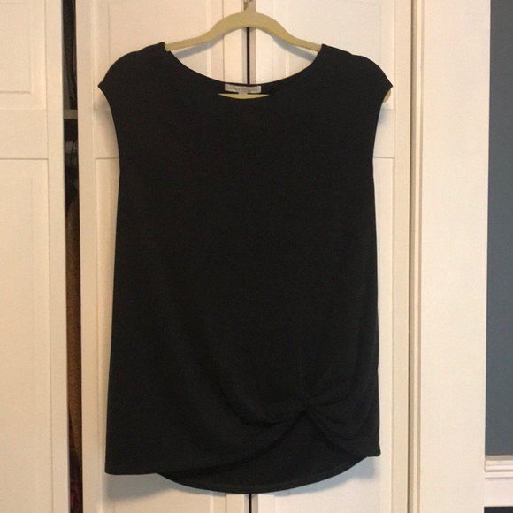 Green Envelope Tops - Short sleeve with knotted bottom